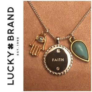 🆕 Lucky Brand Charm Necklace
